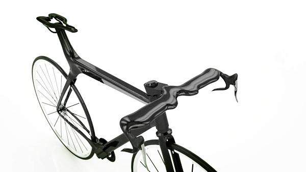 碳纤维自行车的加工制作方法
